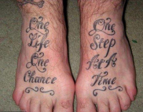 Recovering addict Tattoos