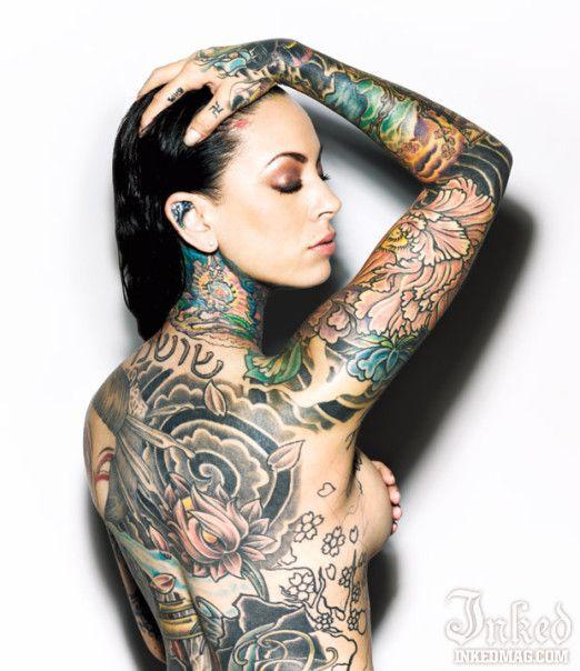 Inked magazine Tattoos