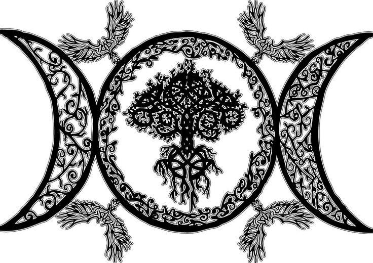 Wiccan Goddess Symbol Golfclub
