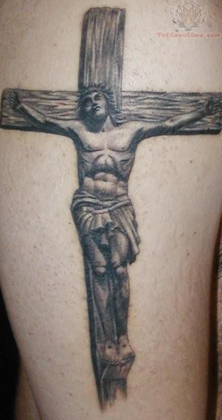 Christ cross Tattoos