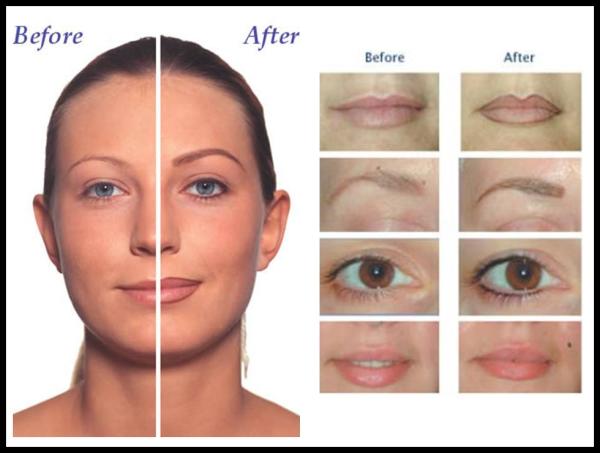 Face makeup tattoos for Face tattoo makeup