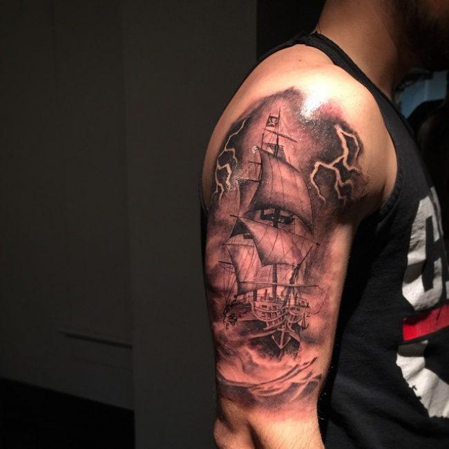 historical pirate tattoos