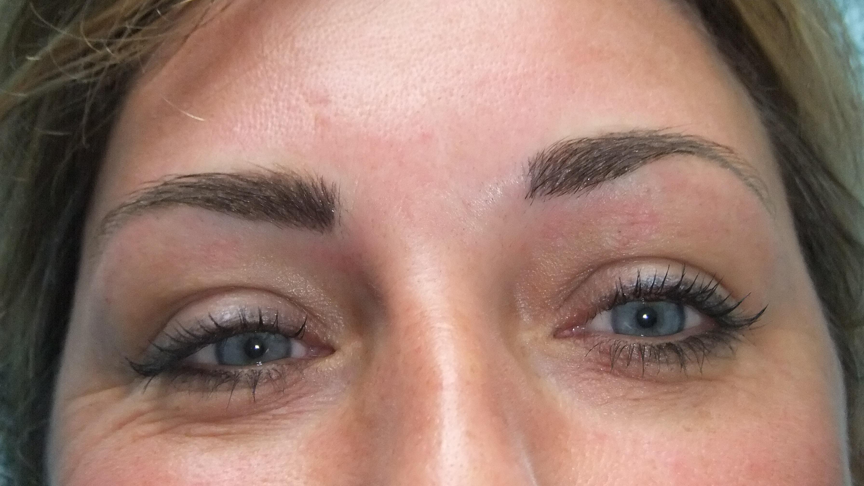 Good eyebrow tattoos for Cosmetic eyebrow tattoo