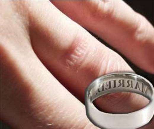 White Ink Wedding Ring Tattoos - Image Of Wedding Ring Enta-Web.Org