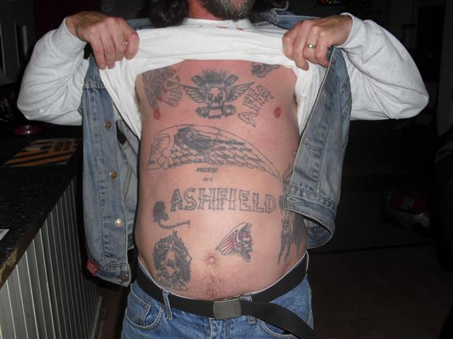 Hell angels Tattoos