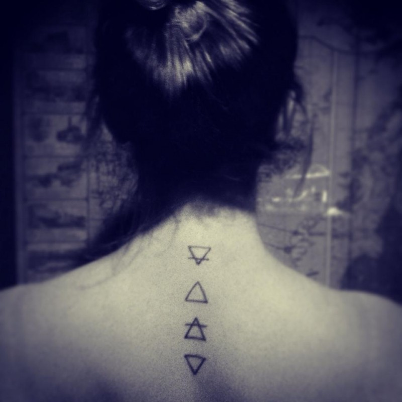 Fire Sign Tattoos