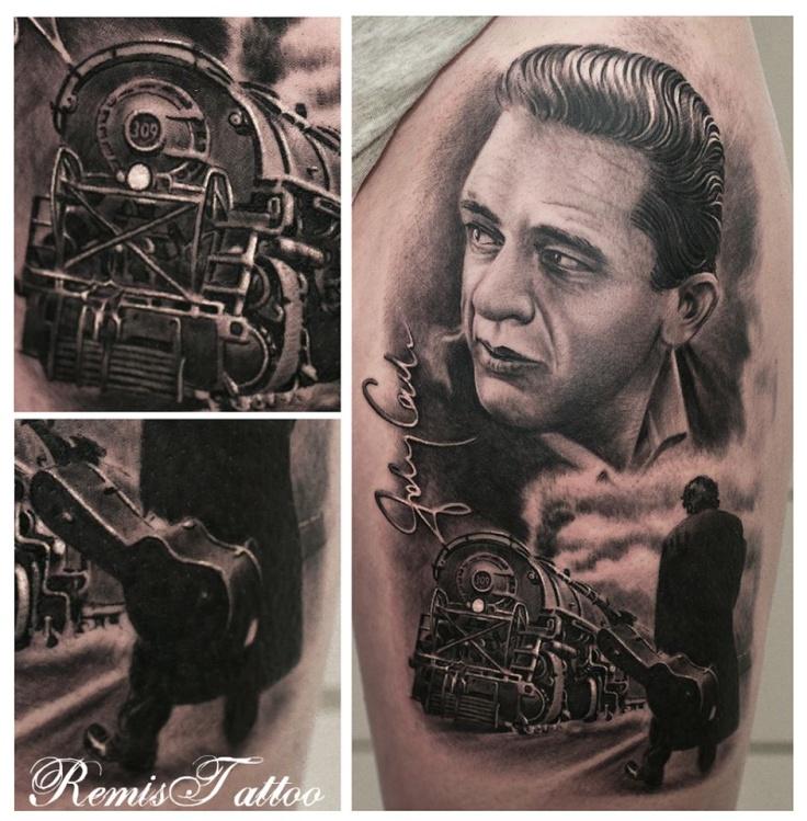 Tattoo Ideas Johnny: Johnny Cash Tattoos