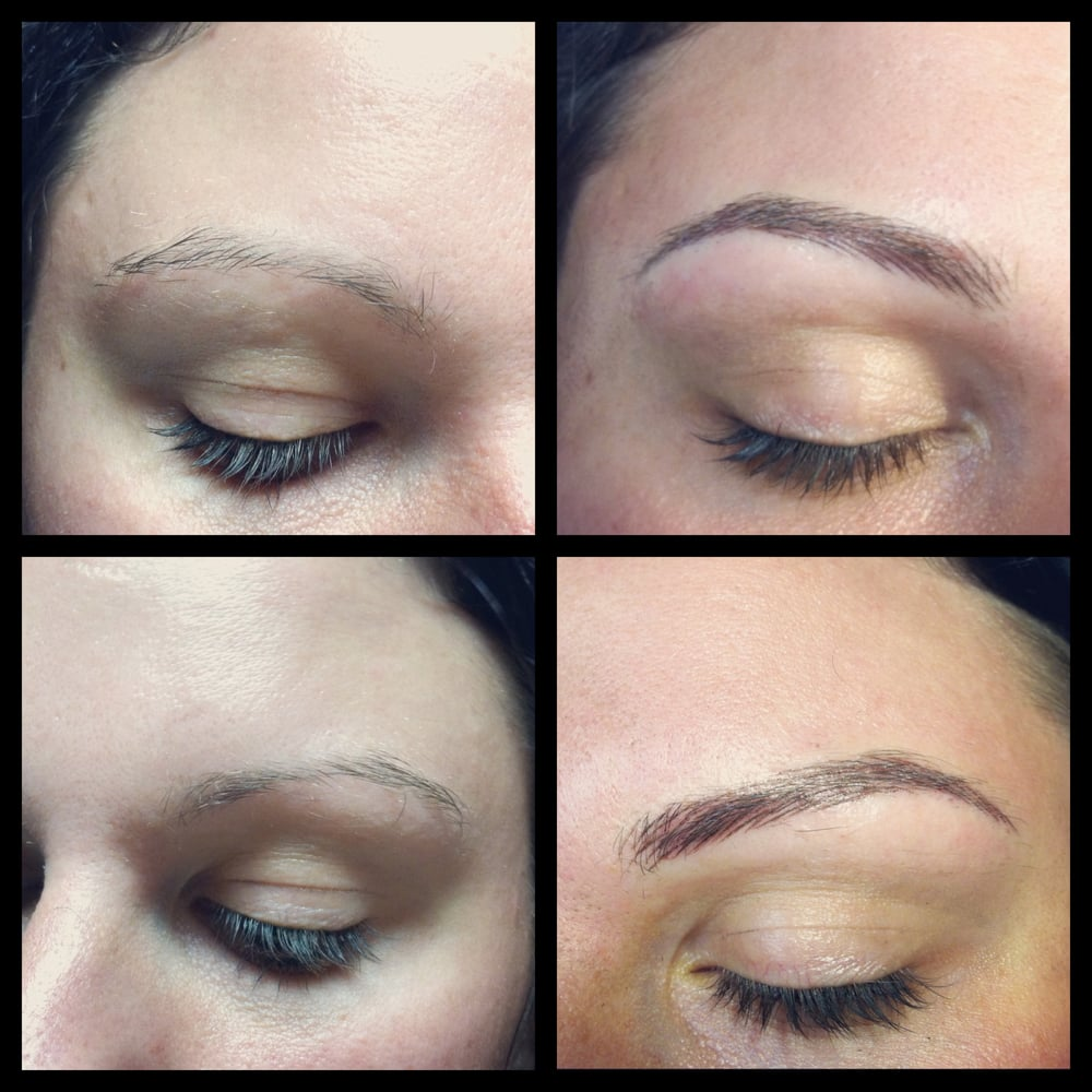 Permanent makeup tattoos for Tattoo eyebrows nj