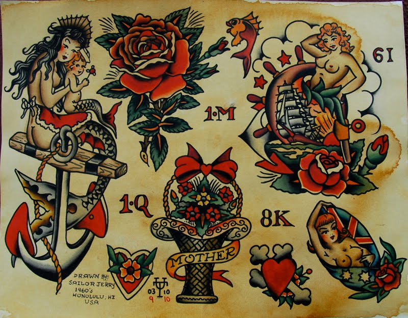 tattoos sailor jerry