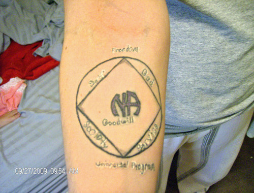 Narcotics anonymous tattoos