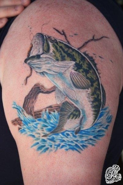 Maori Largemouth Bass Tattoo: Largemouth Bass Tattoos