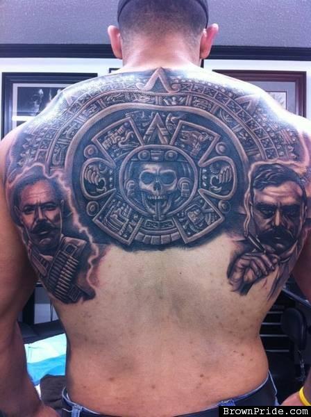 Pancho villa tattoos for Emiliano zapata tattoo