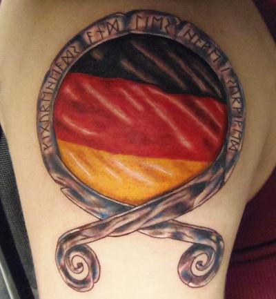 Top Five German Flag Tattoo Ideas / Fullservicecircus