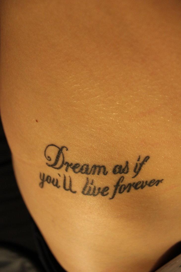 Inspirational quotes Tattoos
