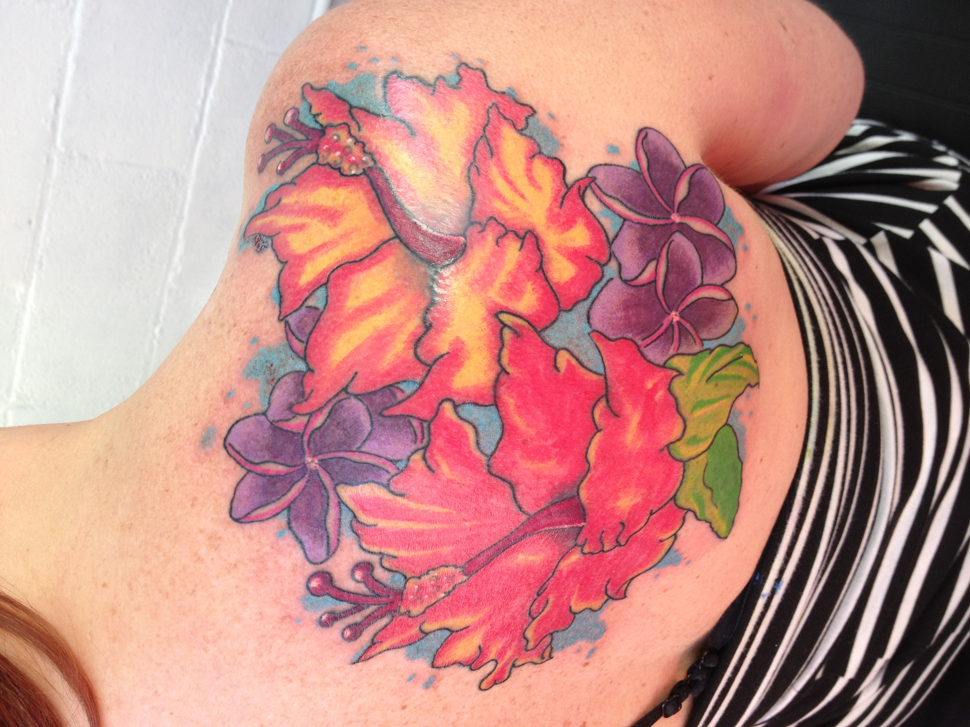 Hawaiian lei flower tattoo flowers healthy hawaiian lei tattoos tattoos of flowers izmirmasajfo