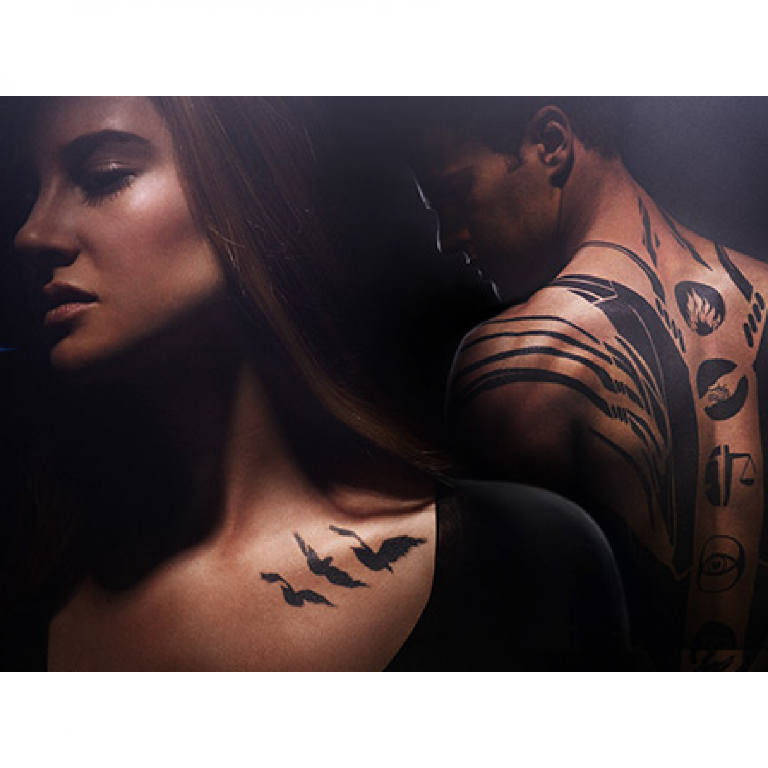 Divergent fake tattoos for Divergent tattoo tris