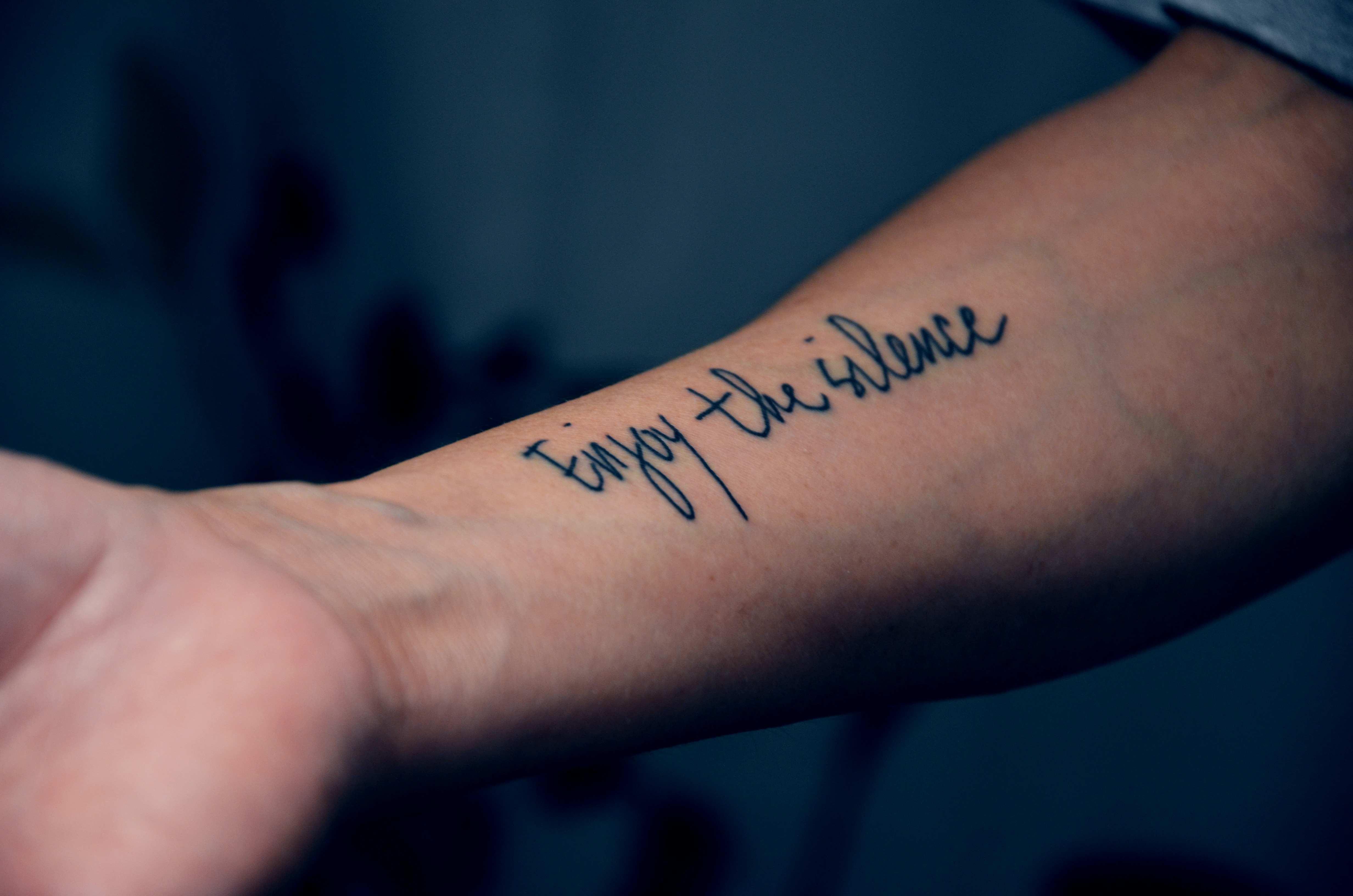 787b3168c Inner forearm Tattoos