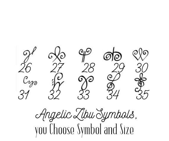 Angelic Symbol Tattoos