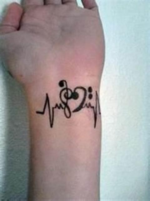 cf9c26ffd music tattoos note tattoo designs, download 1216 tattoo design .