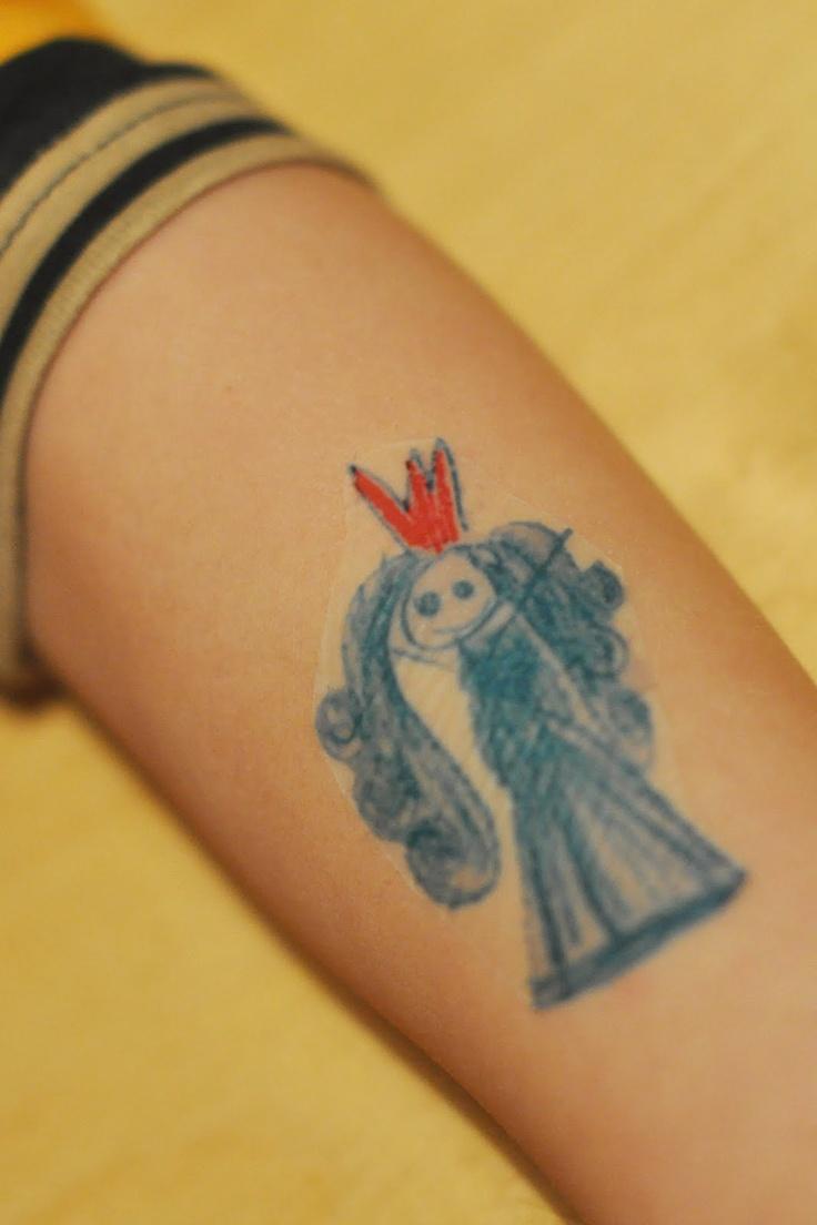 Make fake Tattoos