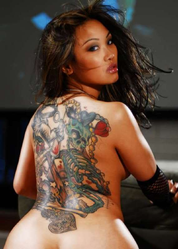 Hot naked women with tattoos agree, this