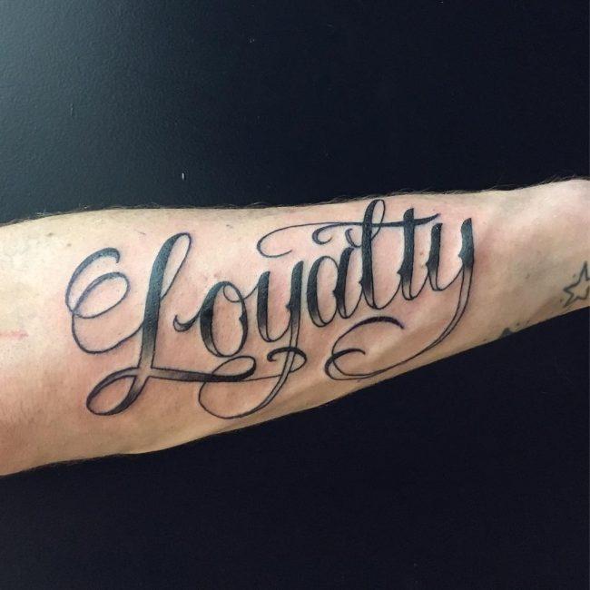 Loyalty Tatoo: Loyalty Tattoos