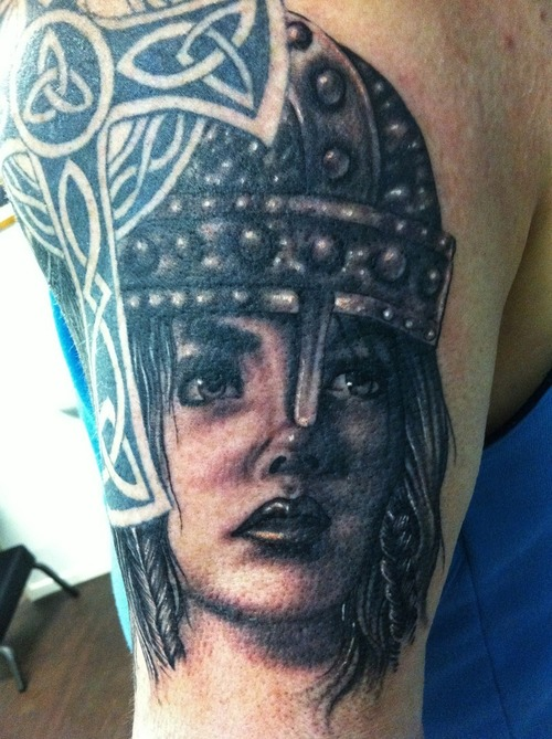Warrior Valkyrie Viking Womens Tattoos Pictures Www Picturesboss Com
