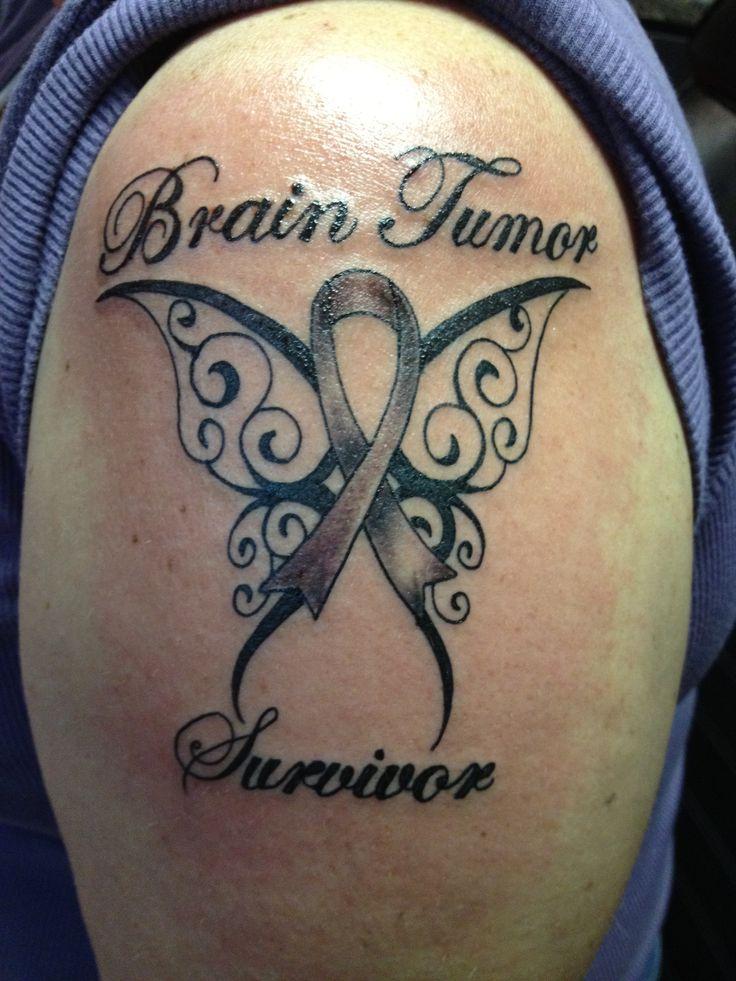 Brain Cancer Awareness Tattoo Best Brain 2018