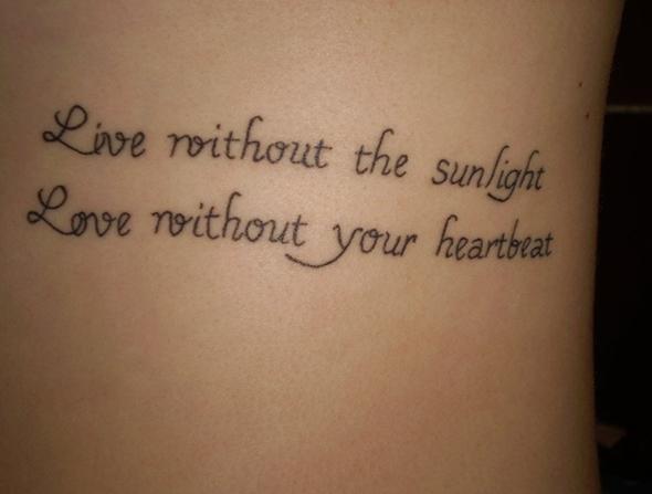 Short quote Tattoos