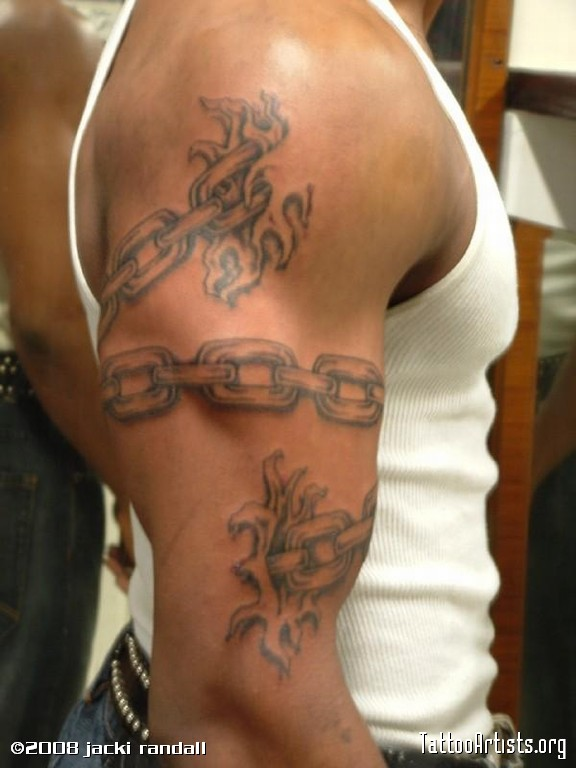 Chain Link Tattoos