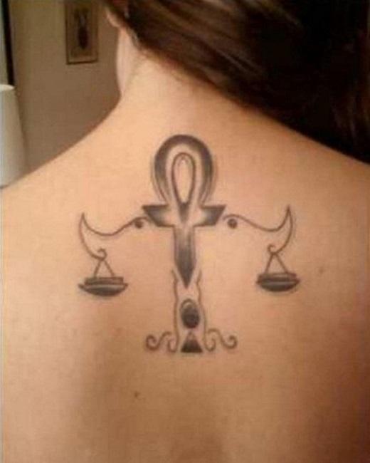 Libra zodiac Tattoos