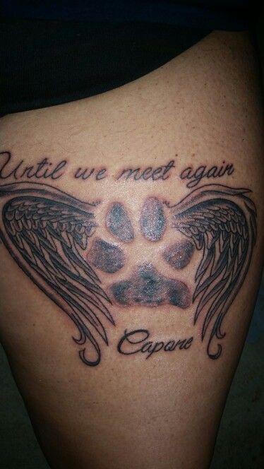 Pet memorial tattoos for Pet memorial tattoos