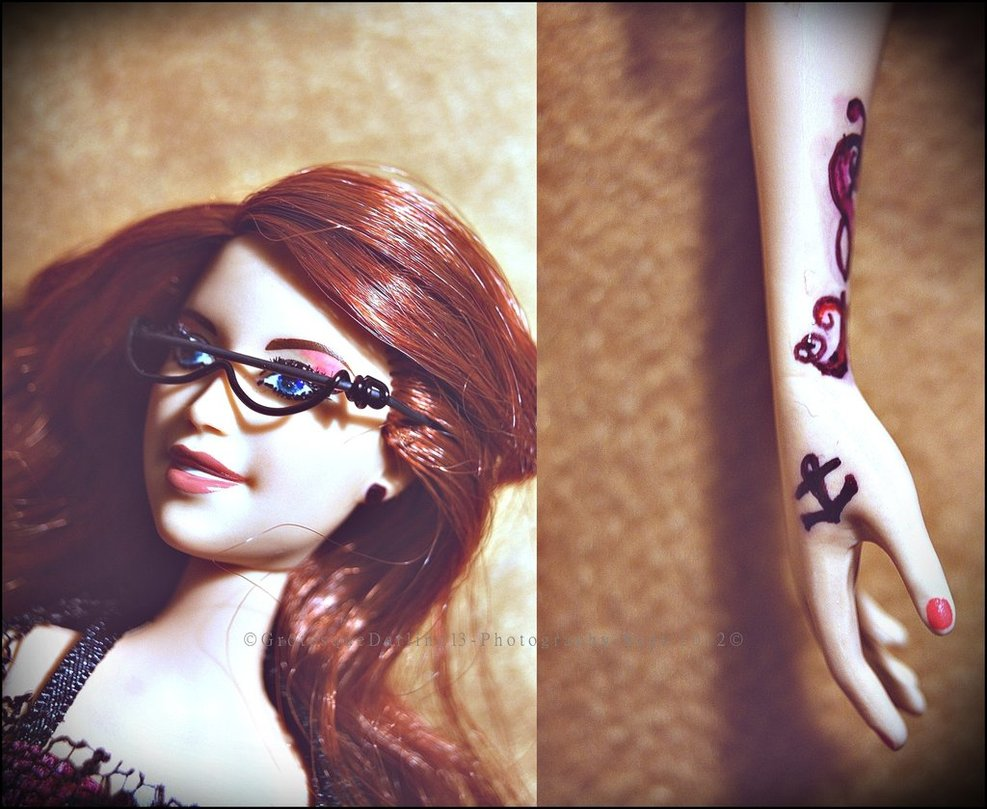 Barbie With Tattoos