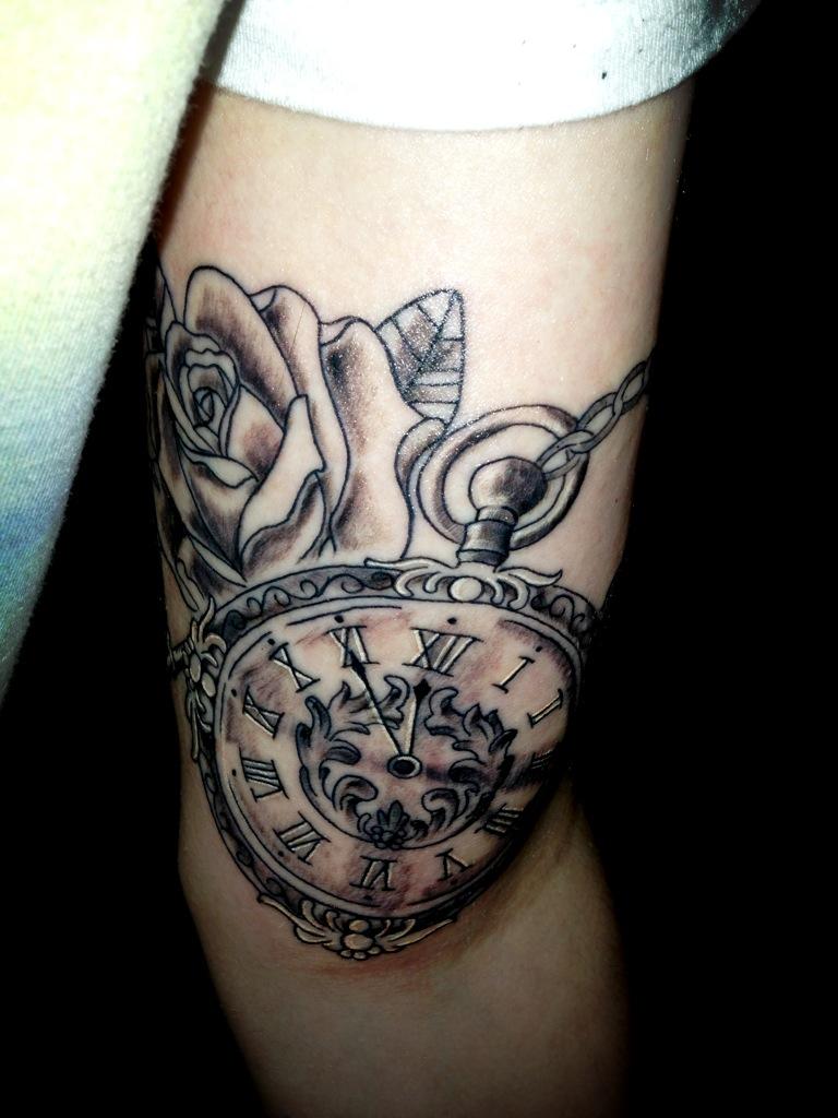 Pocket Watches Tattoos