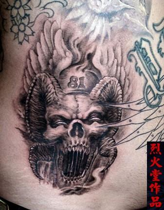 Hell angels tattoos for Hells angels tattoos pics