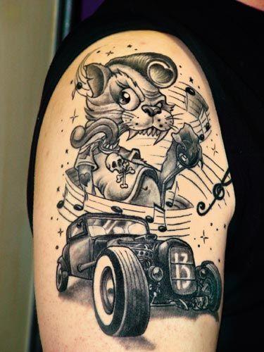 Rockabilly Style Tattoos