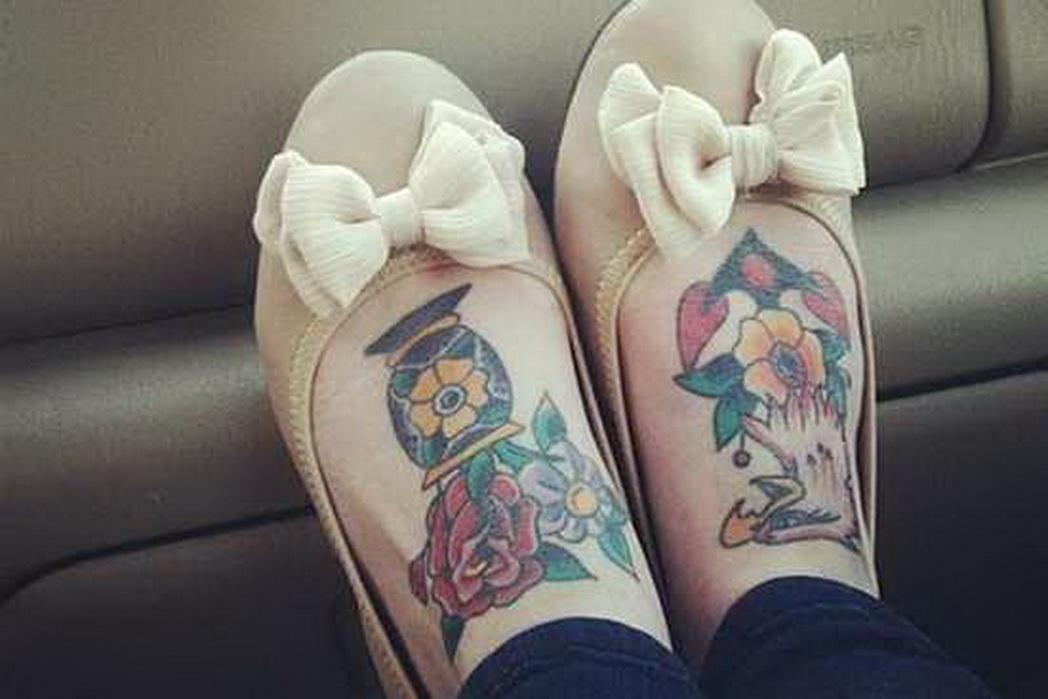 466bbf271969 Flip flop Tattoos