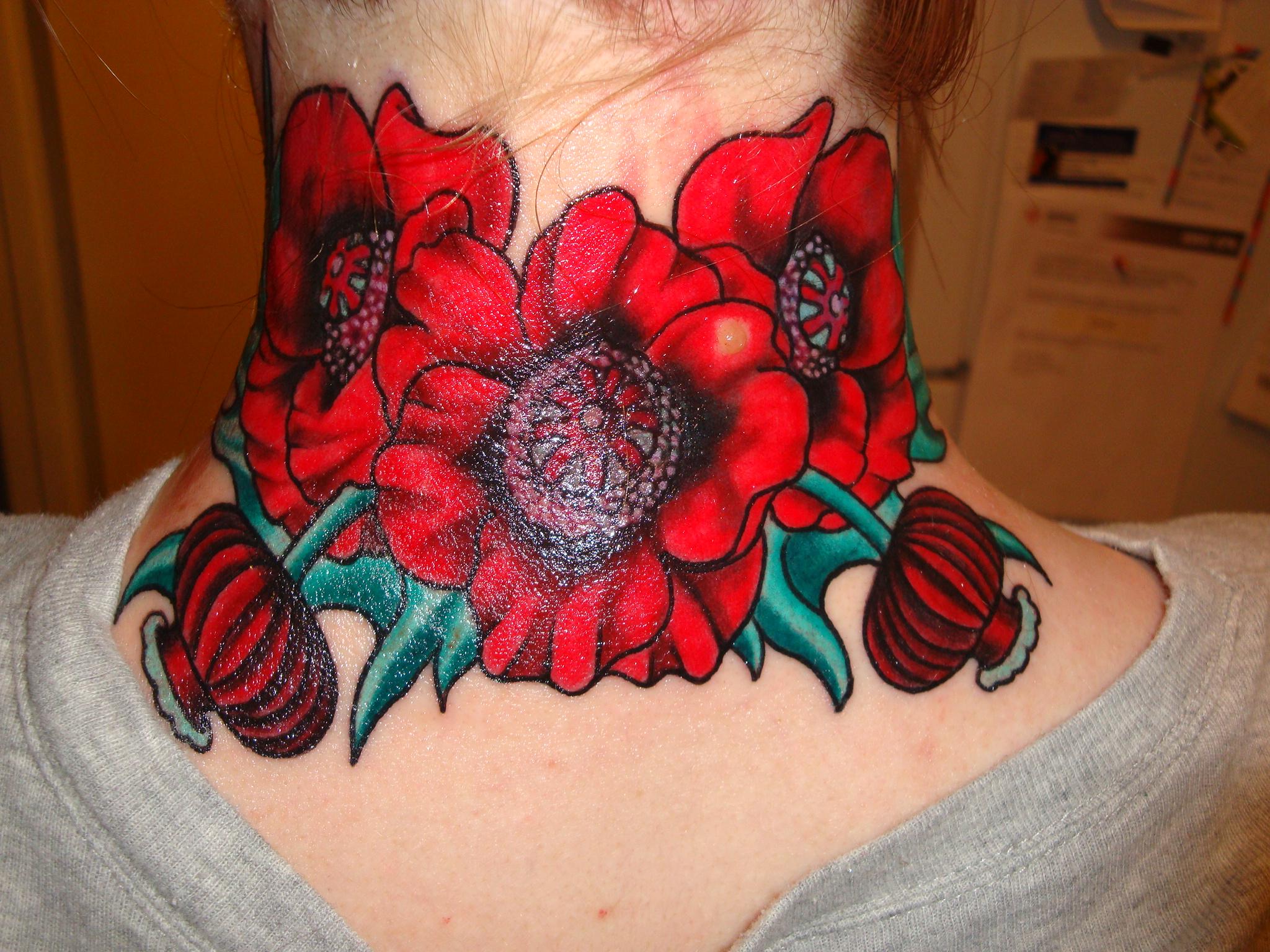 Flowers tattoos izmirmasajfo