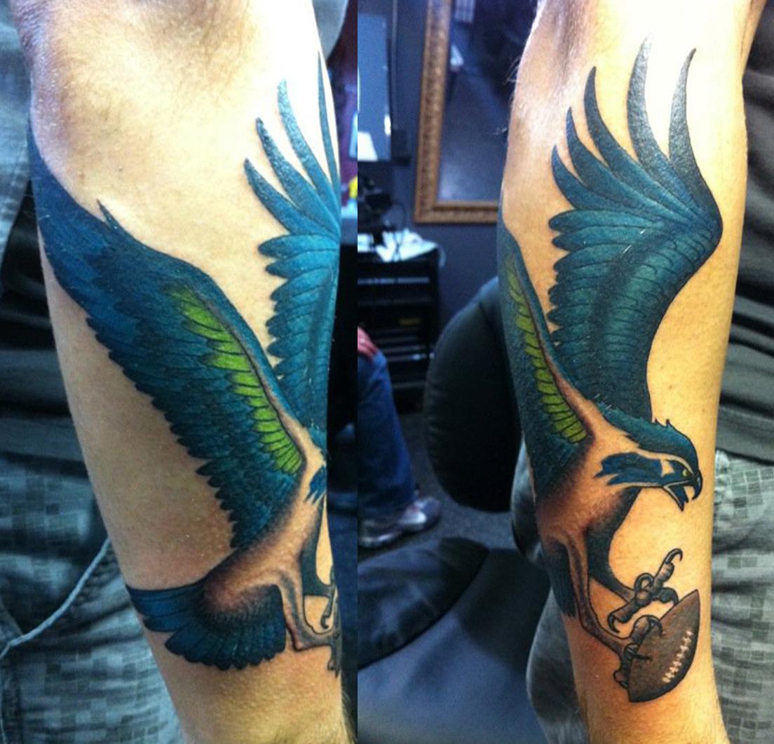 seahawks tattoos