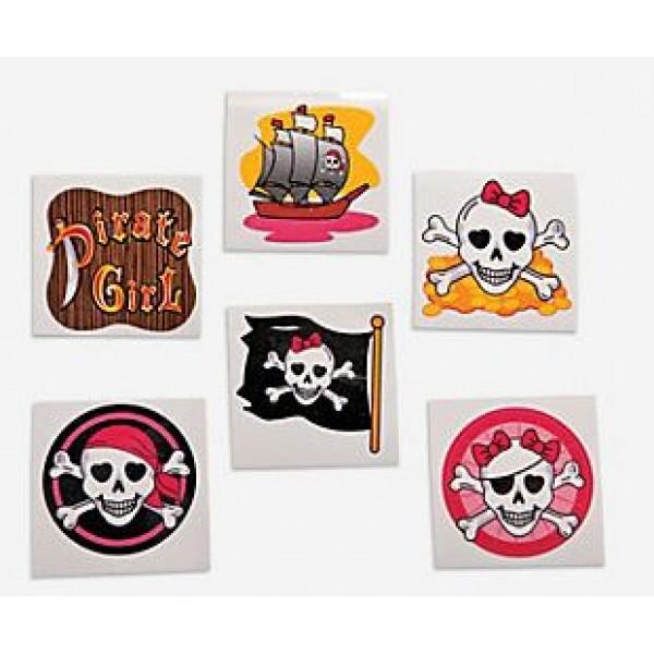 1d01f0bacf1b0 Pirate fake Tattoos