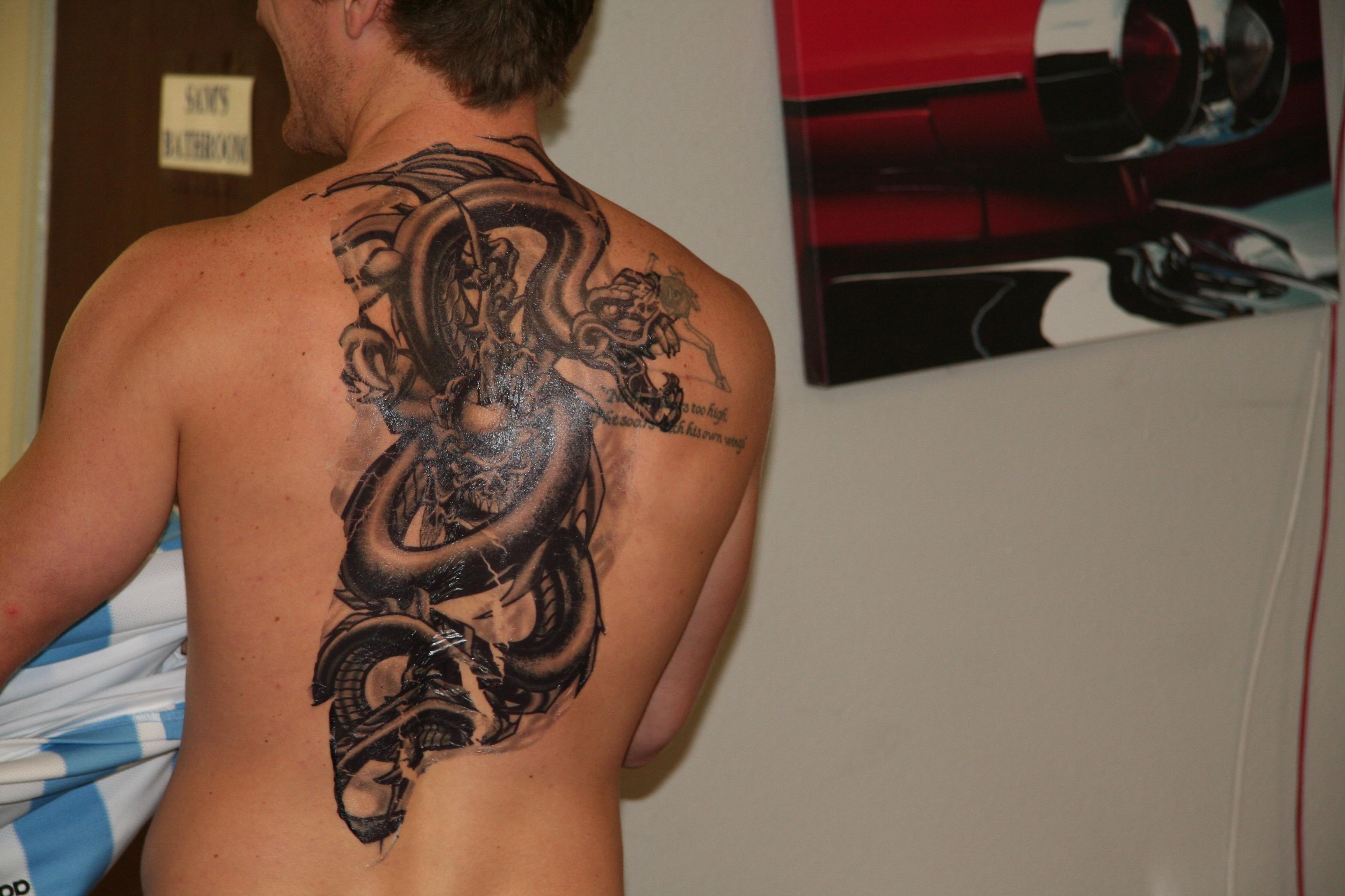 Customize fake Tattoos