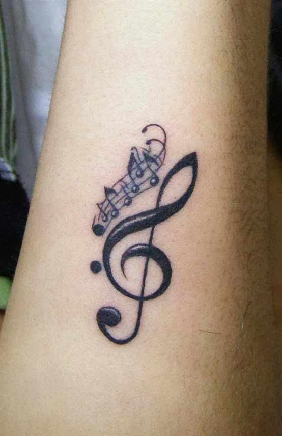 Music Symbol Tattoos