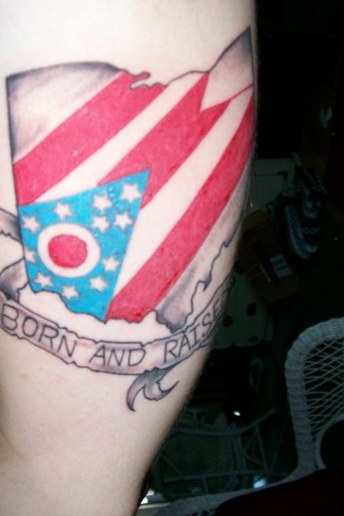 Ohio state tattoos for State of ohio tattoos