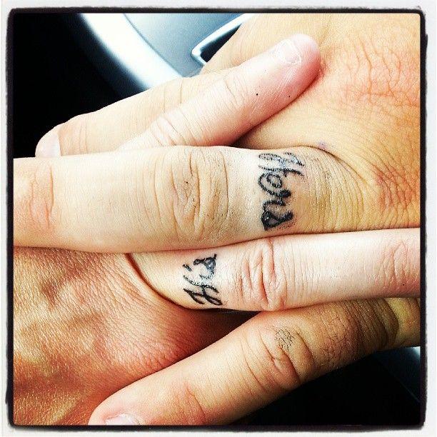 White Ink Tattoos Wedding Ring: White Ring Tattoos