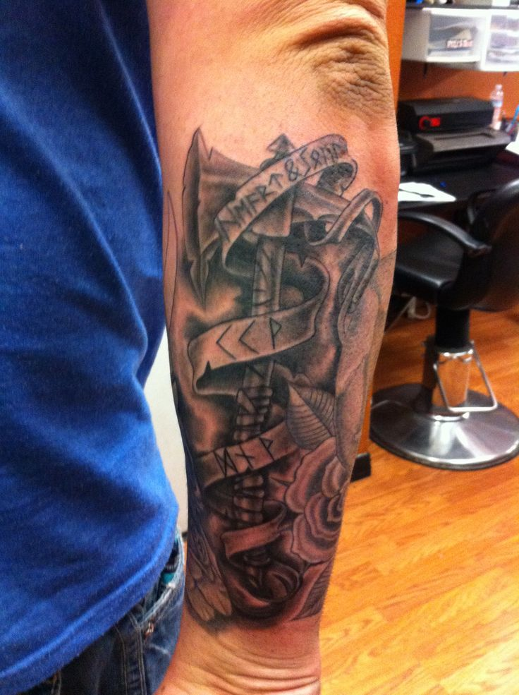 Outer Forearm Tattoos