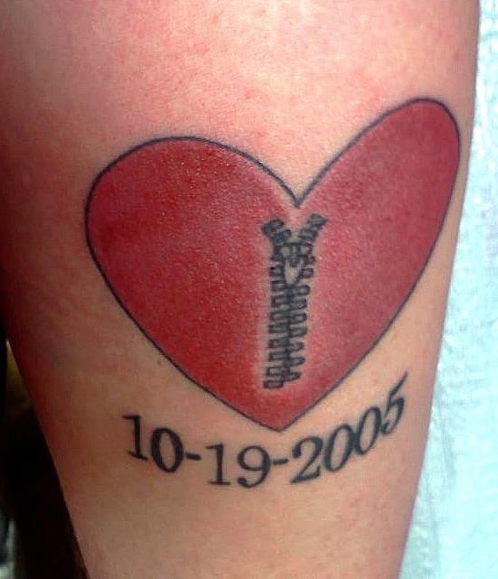 Open Heart Tattoos