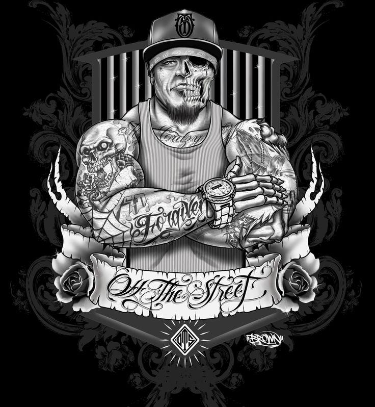 Gangster art TattoosGangsta Artwork