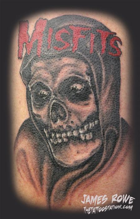 ghost skull tattoos