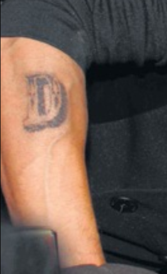 Letter d tattoos is d alphabet tattoo on outside wrist 2 old english letter d tattoo altavistaventures Gallery