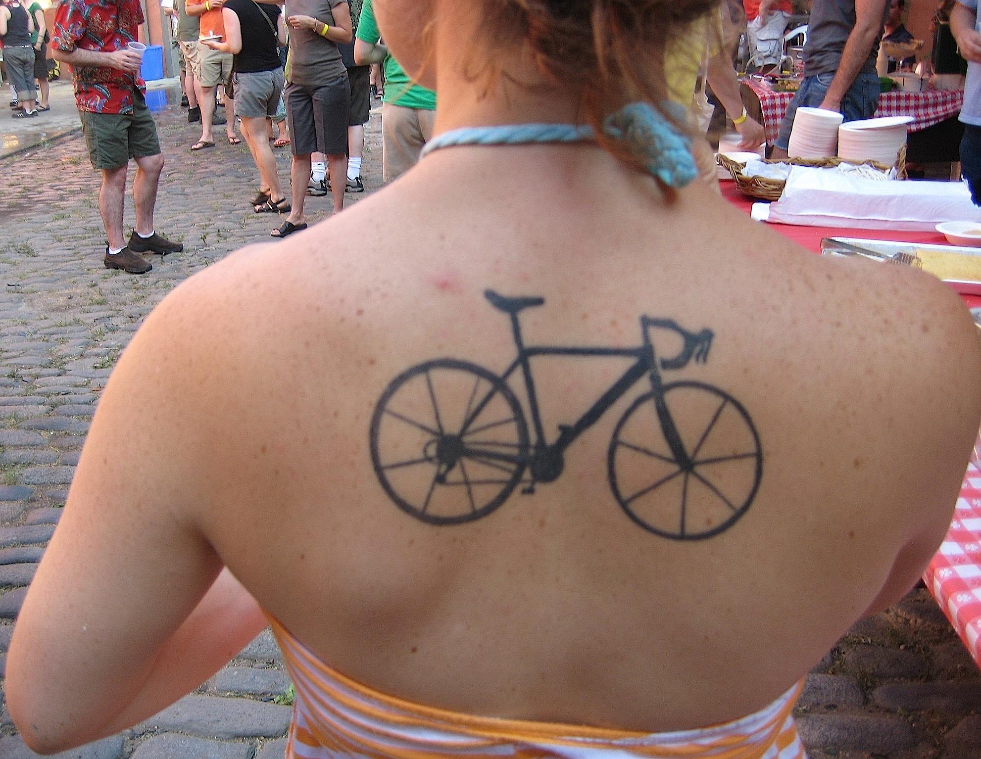 Road Bike Tattoos